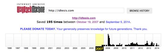 IDTesis.com hadir sejak 2007 Jasa Pembuatan Tesis Pendidikan Sejarah
