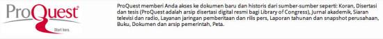 Pro-Quest Pusat Jurnal Asing Jasa Pembuatan Tesis Jakarta | 0852.25.88.77.47 (WA) | BBM : 5E1D5370