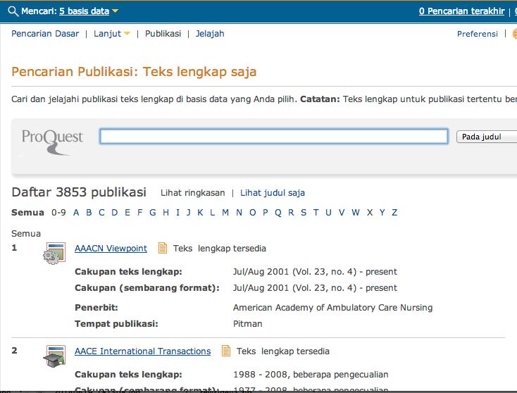 Tampilan Mesin Pencari Jurnal Asing/Internasional Berbayar Jasa Pembuatan Tesis Hukum Tata Negara 0852.25.88.77.47 (WA) | BBM : 5E1D5370