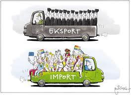 Ilustrasi Gambar Eksport Dan Import