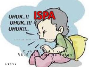 Infeksi Saluran Pernapasan Akut (ISPA) Pengertian Infeksi Saluran Pernapasan Akut (ISPA) Menurut Para Ahli | Glosarium