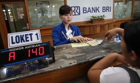 Salah Satu Transaksi Di Bank BRI