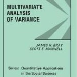 Multivariate  Analysis Of Variance (Manova)