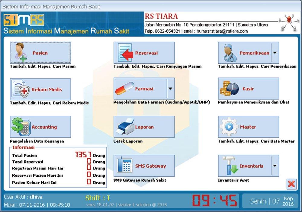 Teori Lengkap Tentang Sistem Informasi Rumah Sakit Menurut Para Ahli Dan Contoh Tesis Sistem Informasi Rumah Sakit Jasa Pembuatan Skripsi Dan Tesis 0852 25 88 77 47 Wa